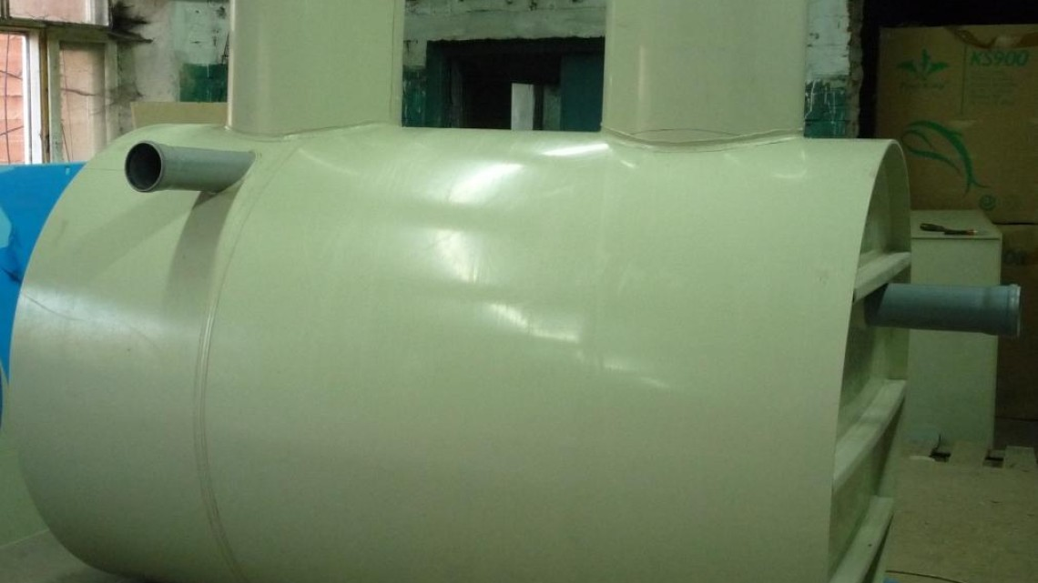 Схема жироуловителя 25 л_с